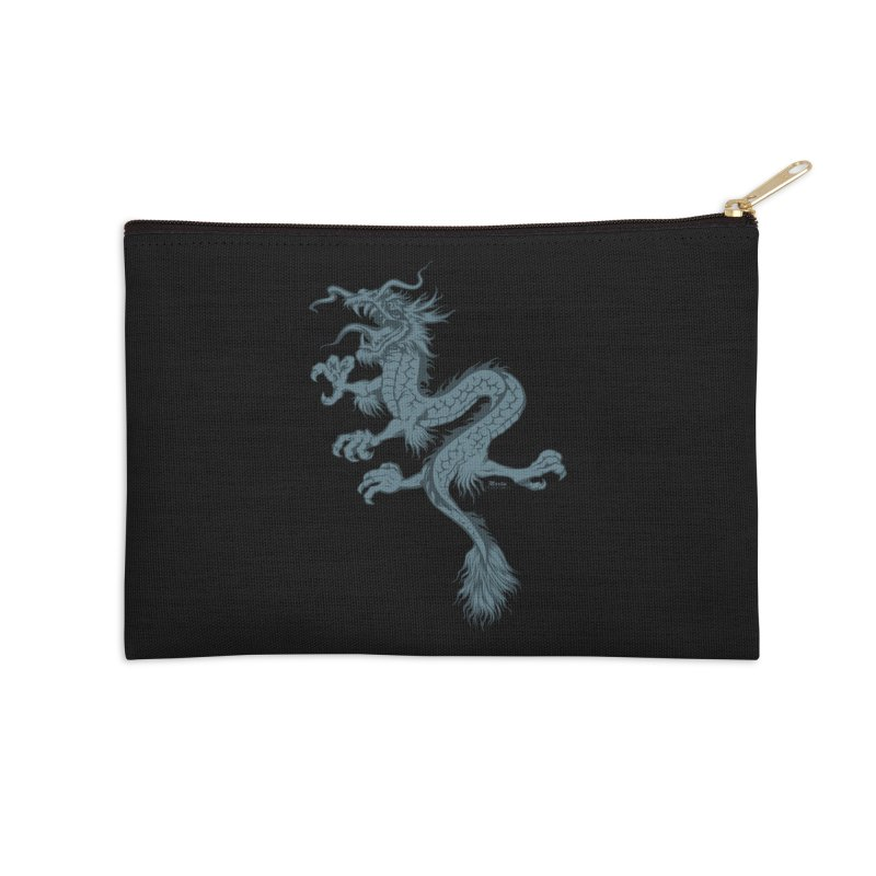 Dragon Accessories Zip Pouch by EngineHouse13's Artist Shop