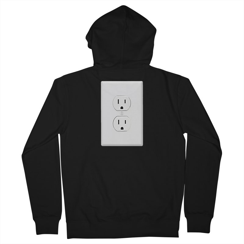 Plug In Women's Zip-Up Hoody by EngineHouse13's Artist Shop