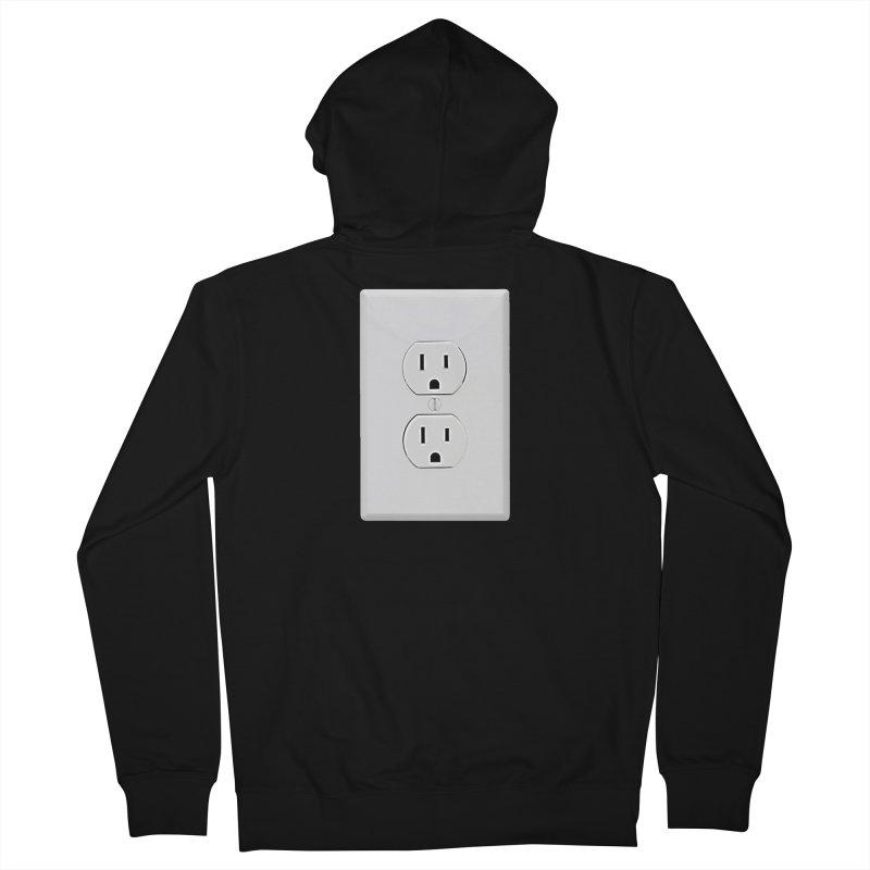 Plug In Men's Zip-Up Hoody by EngineHouse13's Artist Shop