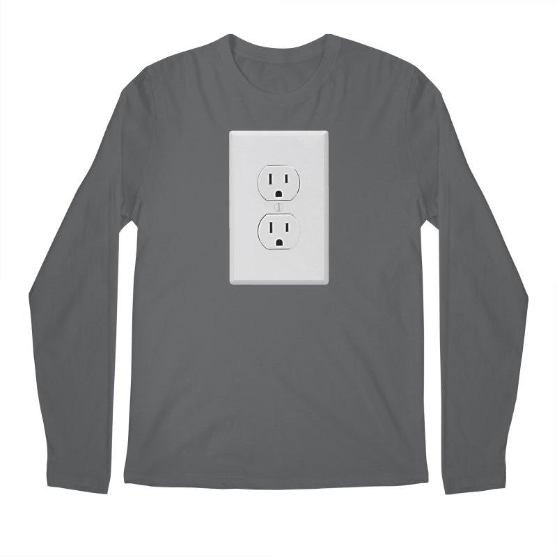 Plug In Men's Longsleeve T-Shirt by EngineHouse13's Artist Shop
