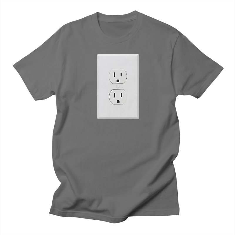 Plug In Men's T-shirt by EngineHouse13's Artist Shop