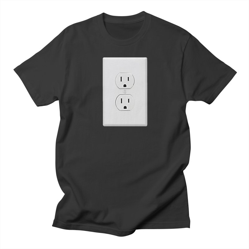 Plug In Women's Unisex T-Shirt by EngineHouse13's Artist Shop