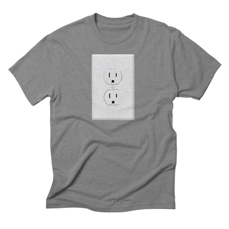 Plug In Men's Triblend T-Shirt by EngineHouse13's Artist Shop