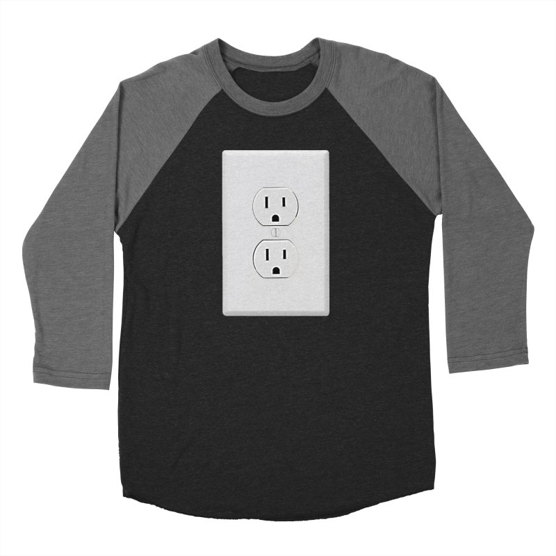 Plug In Men's Baseball Triblend T-Shirt by EngineHouse13's Artist Shop