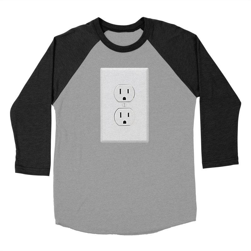 Plug In Men's Baseball Triblend T-Shirt by EngineHouse13's Artist Shop