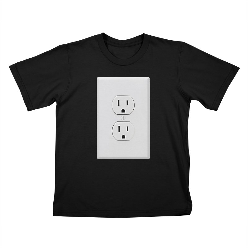Plug In Kids T-shirt by EngineHouse13's Artist Shop