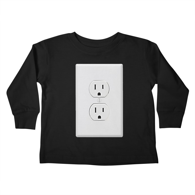 Plug In Kids Toddler Longsleeve T-Shirt by EngineHouse13's Artist Shop