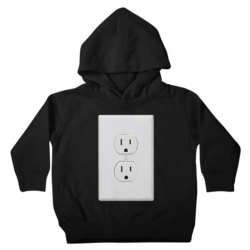 Plug In Kids Toddler Pullover Hoody by EngineHouse13's Artist Shop