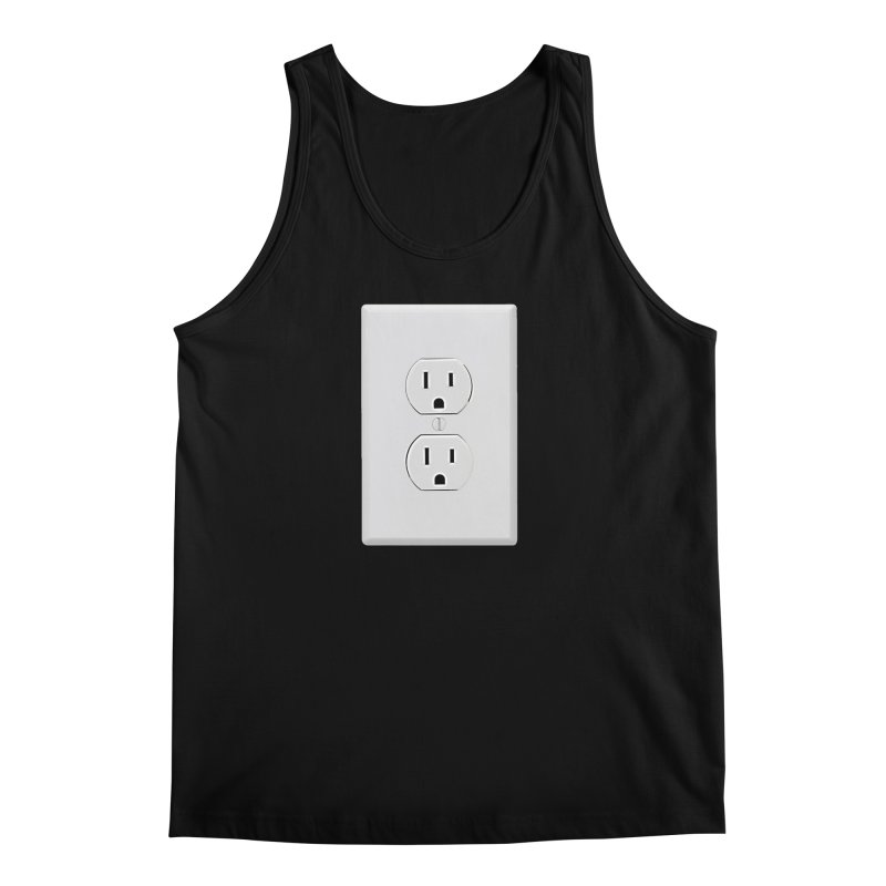 Plug In Men's Tank by EngineHouse13's Artist Shop