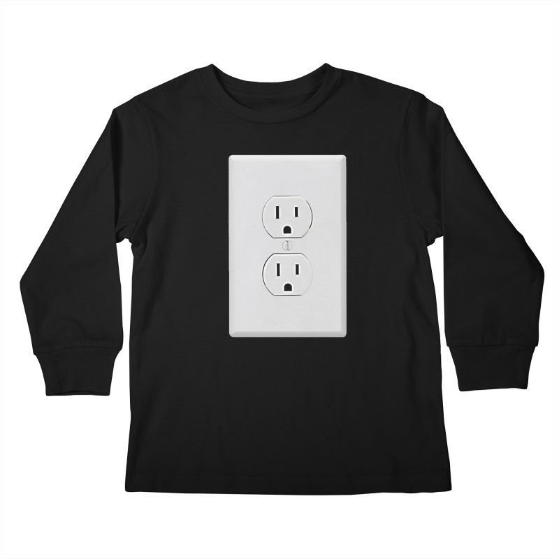 Plug In Kids Longsleeve T-Shirt by EngineHouse13's Artist Shop