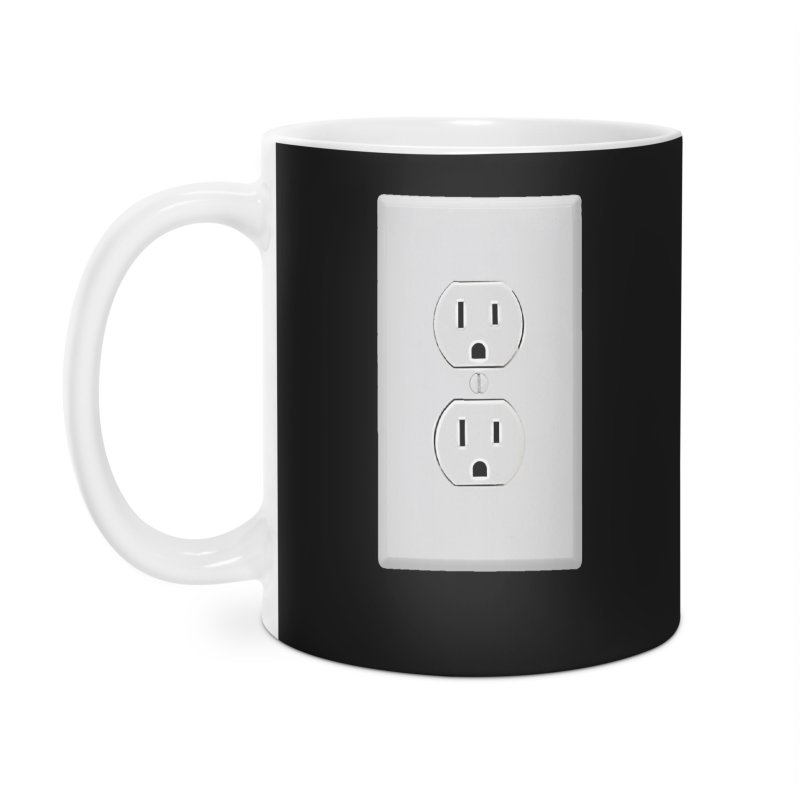 Plug In Accessories Mug by EngineHouse13's Artist Shop