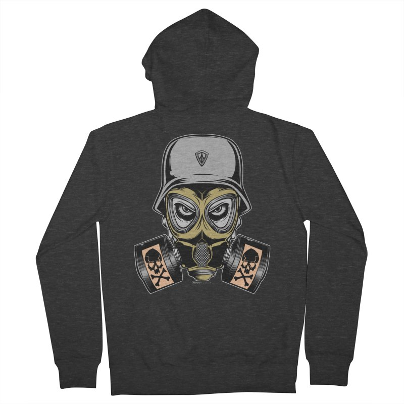 Gassed Men's Zip-Up Hoody by EngineHouse13's Artist Shop