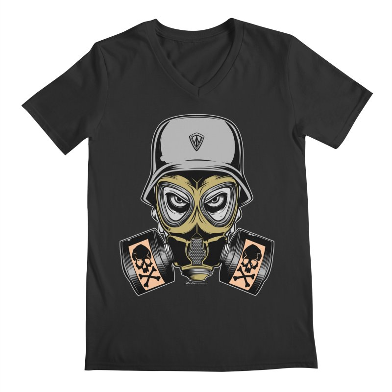 Gassed Men's V-Neck by EngineHouse13's Artist Shop