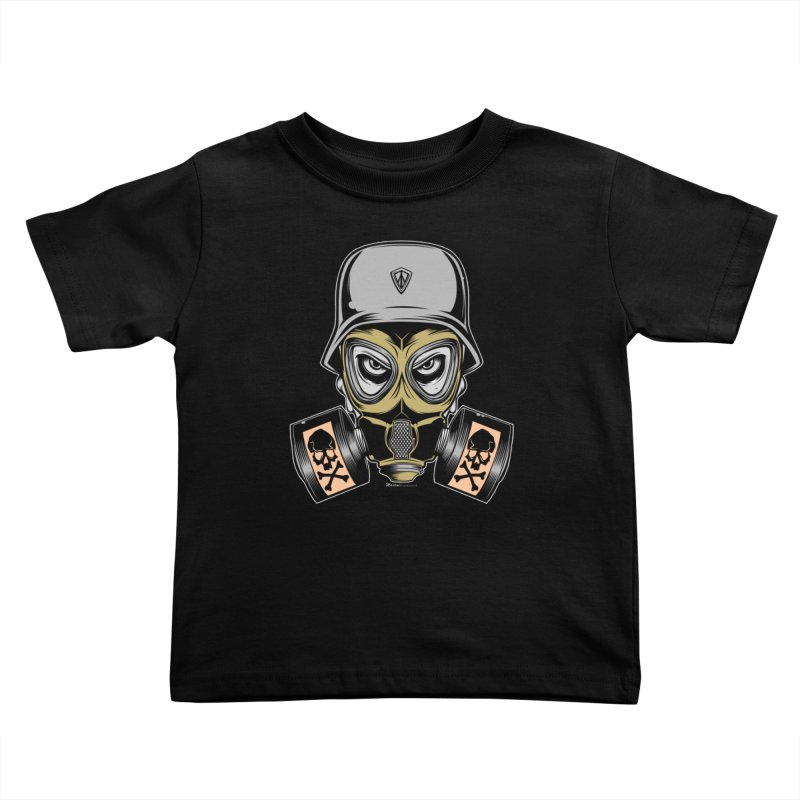 Gassed Kids Toddler T-Shirt by EngineHouse13's Artist Shop