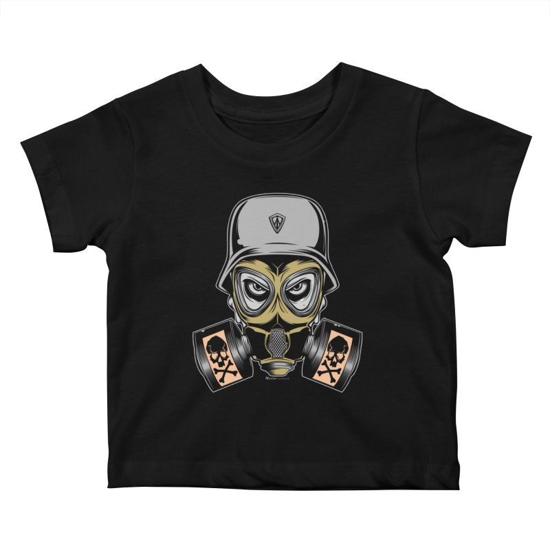 Gassed Kids Baby T-Shirt by EngineHouse13's Artist Shop