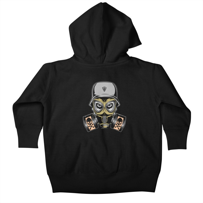 Gassed Kids Baby Zip-Up Hoody by EngineHouse13's Artist Shop