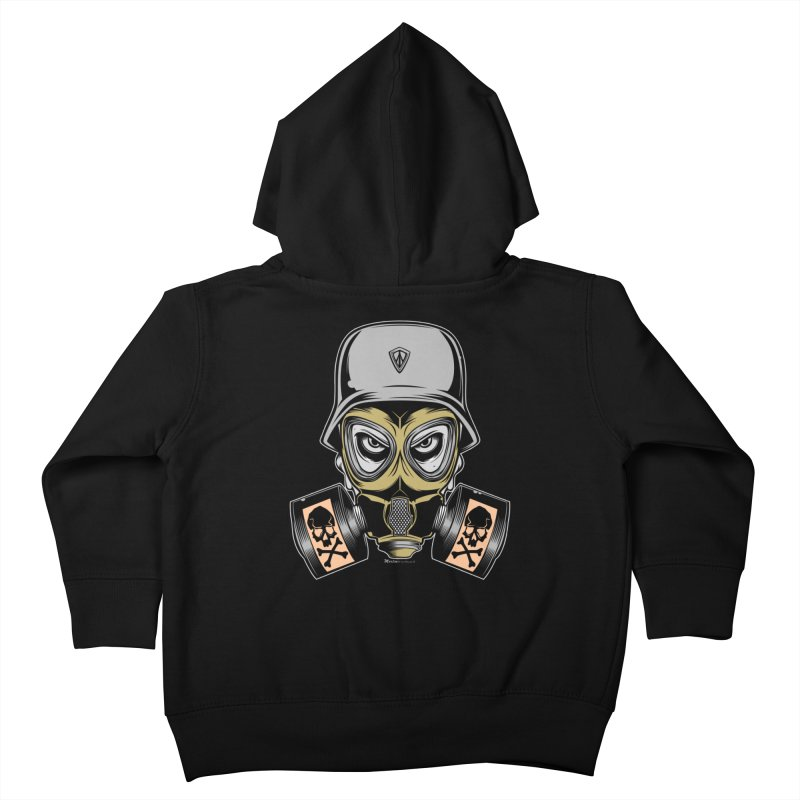 Gassed Kids Toddler Zip-Up Hoody by EngineHouse13's Artist Shop