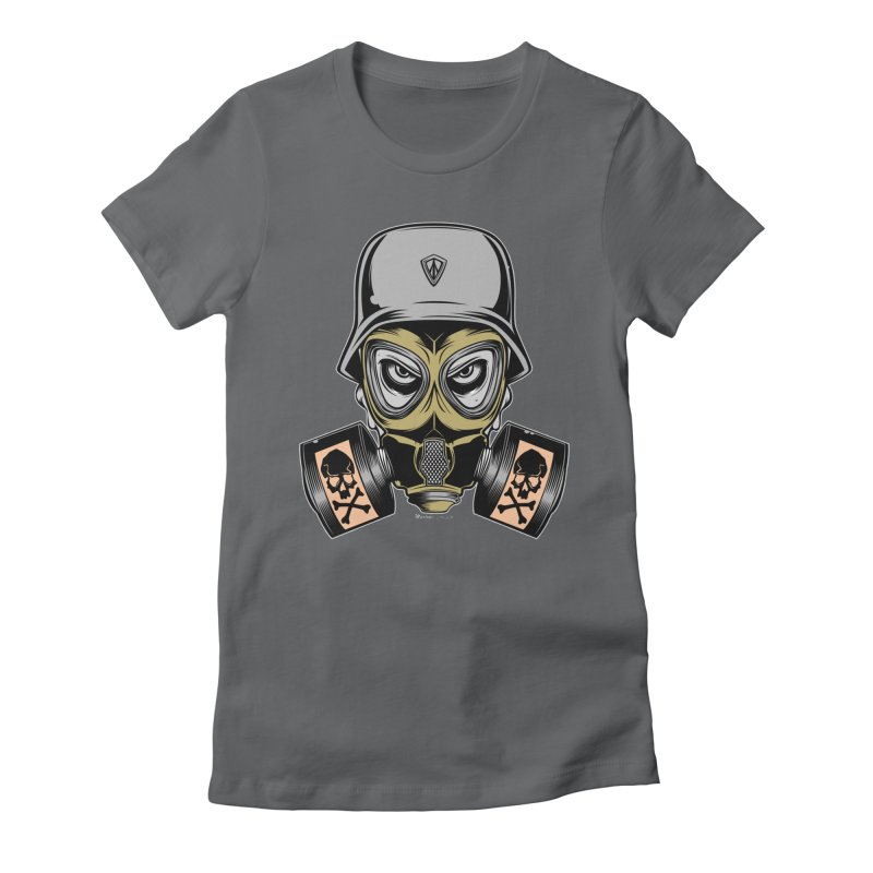 Gassed Women's Fitted T-Shirt by EngineHouse13's Artist Shop