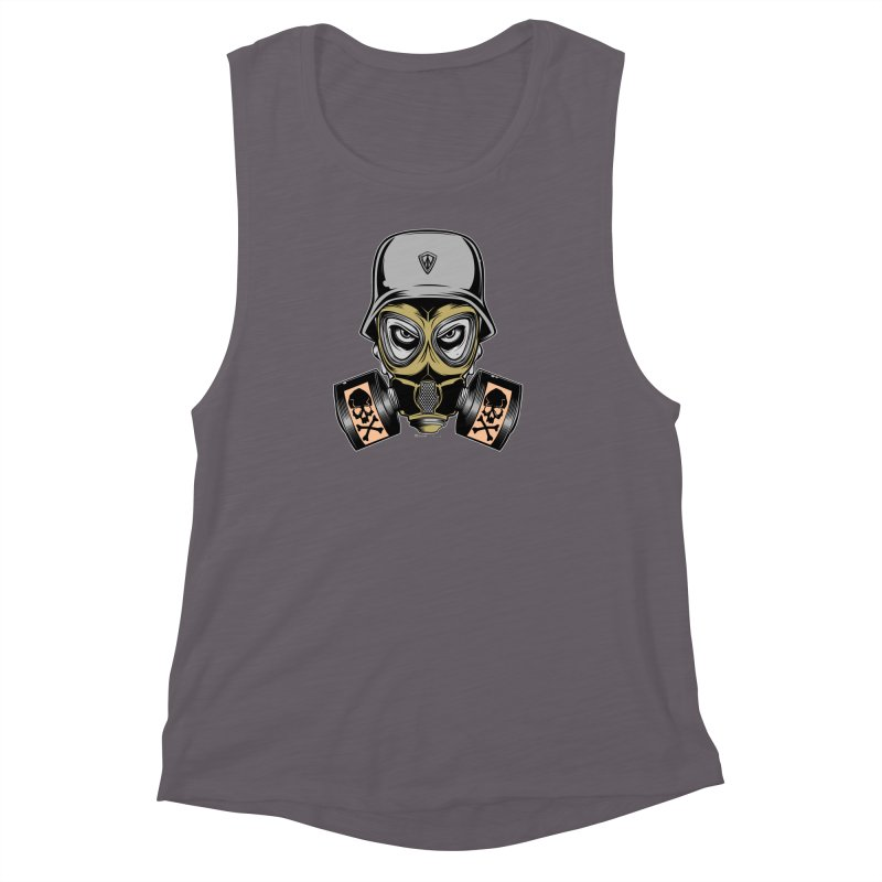 Gassed Women's Muscle Tank by EngineHouse13's Artist Shop