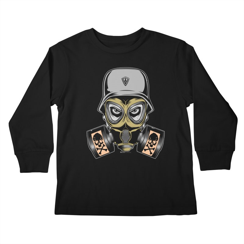 Gassed Kids Longsleeve T-Shirt by EngineHouse13's Artist Shop