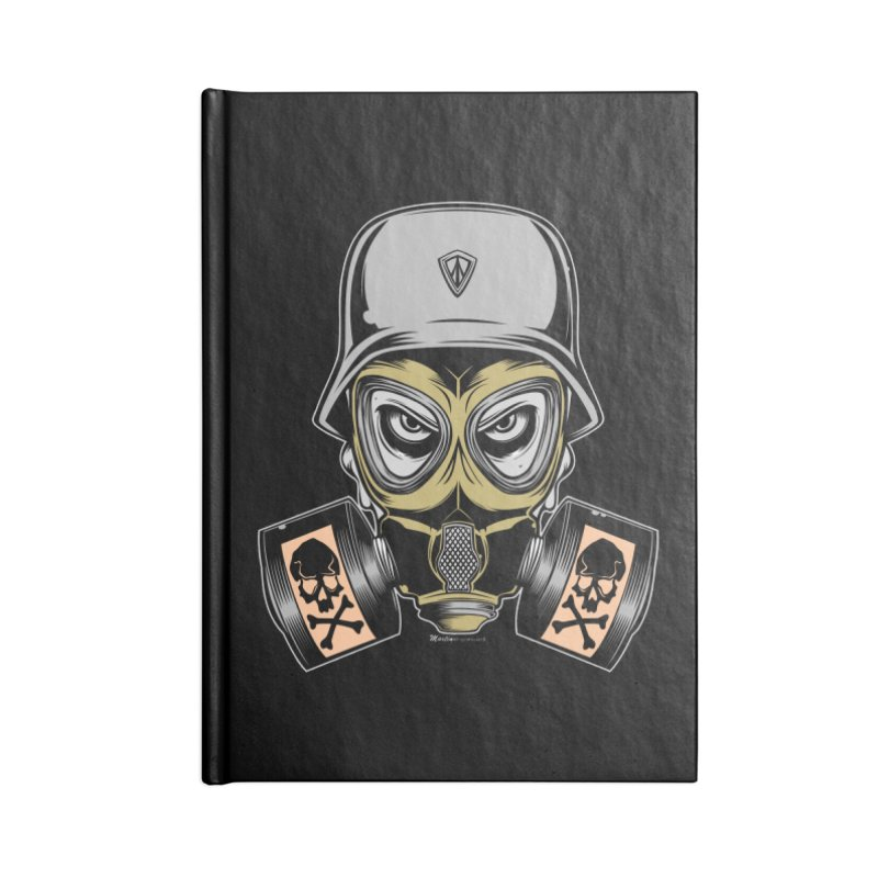 Gassed Accessories Notebook by EngineHouse13's Artist Shop
