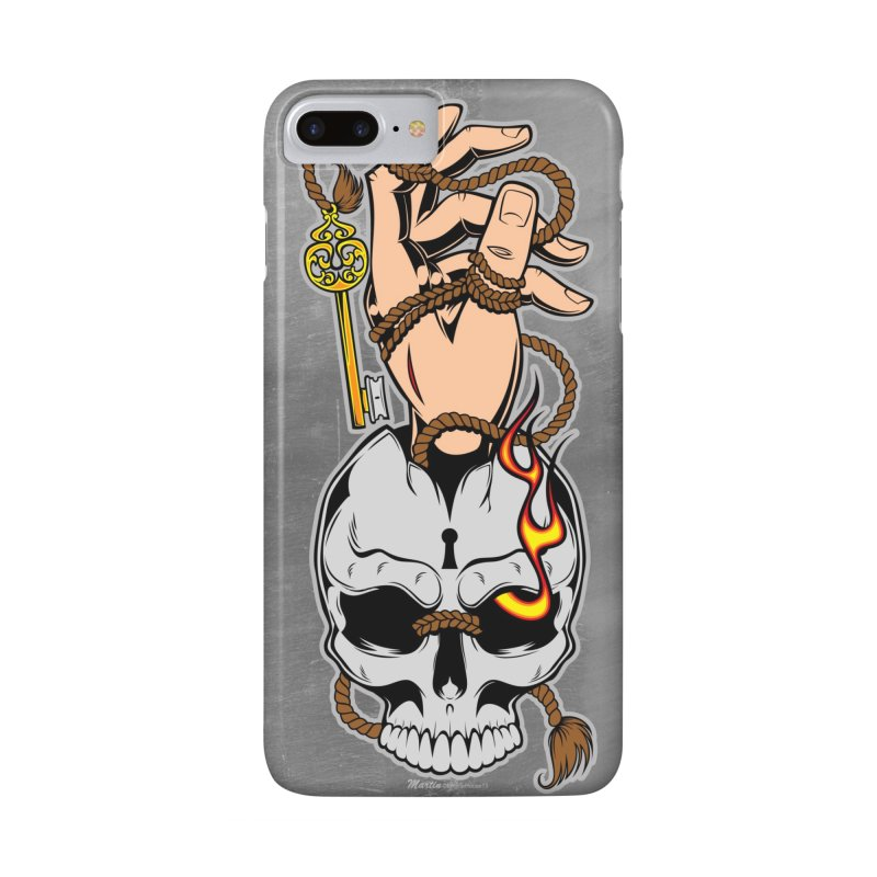 the Key in iPhone 7 Plus Phone Case Slim by EngineHouse13's Artist Shop