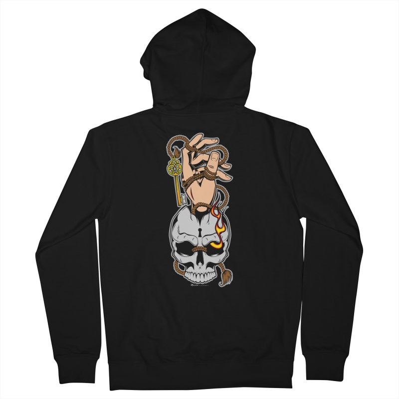 the Key Women's Zip-Up Hoody by EngineHouse13's Artist Shop