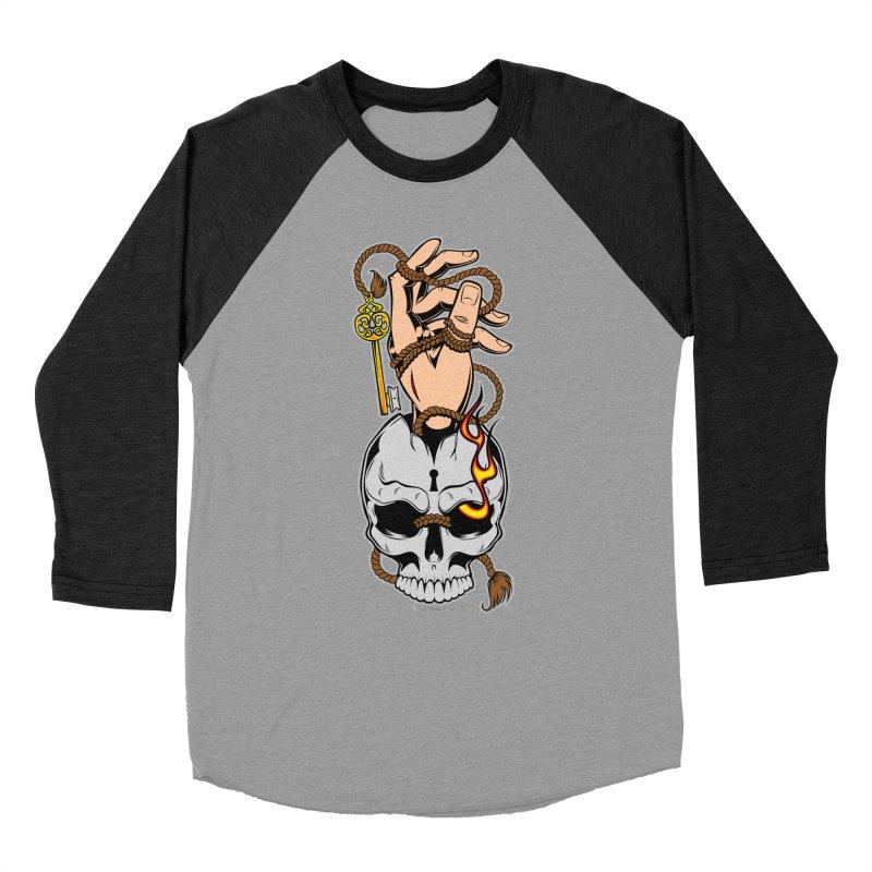 the Key Women's Baseball Triblend T-Shirt by EngineHouse13's Artist Shop