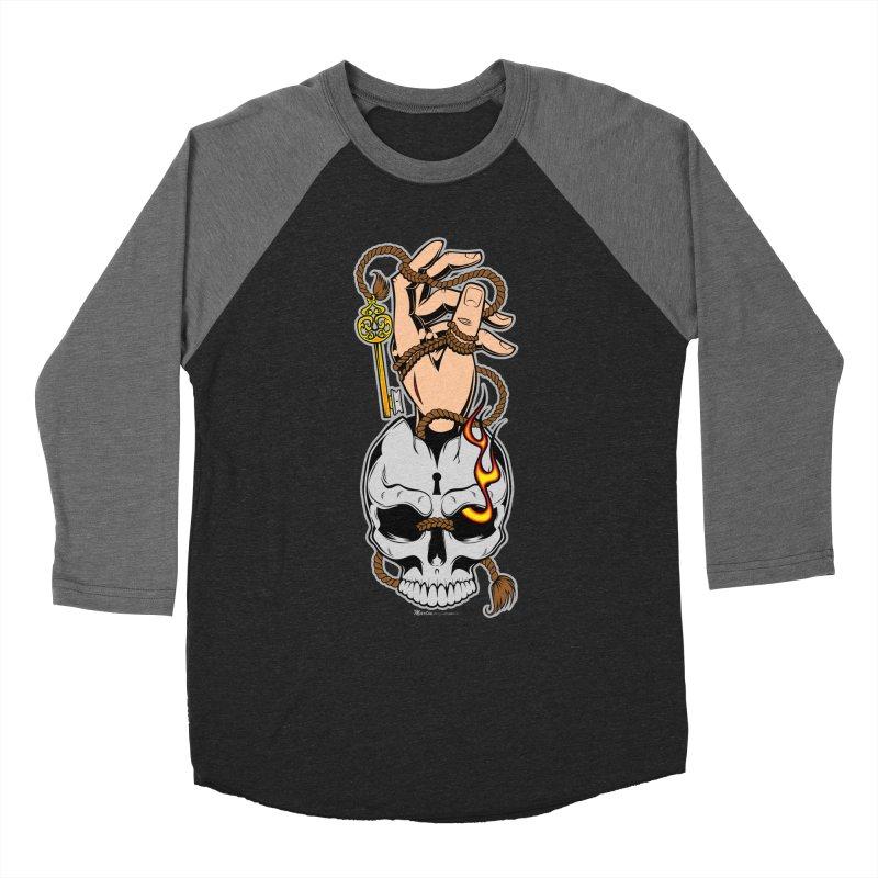 the Key Men's Baseball Triblend T-Shirt by EngineHouse13's Artist Shop
