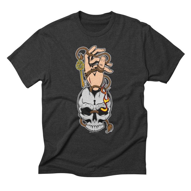 the Key Men's Triblend T-shirt by EngineHouse13's Artist Shop