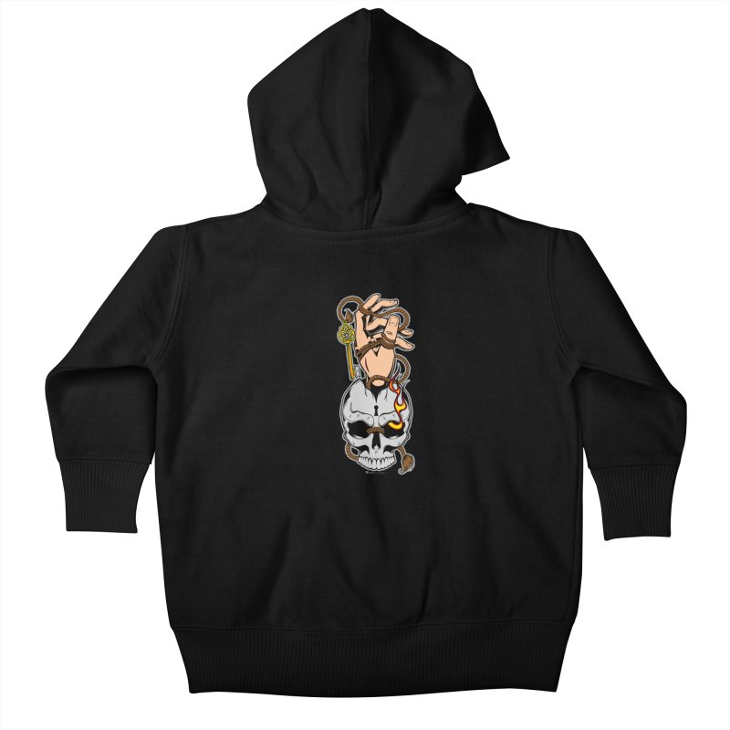 the Key Kids Baby Zip-Up Hoody by EngineHouse13's Artist Shop