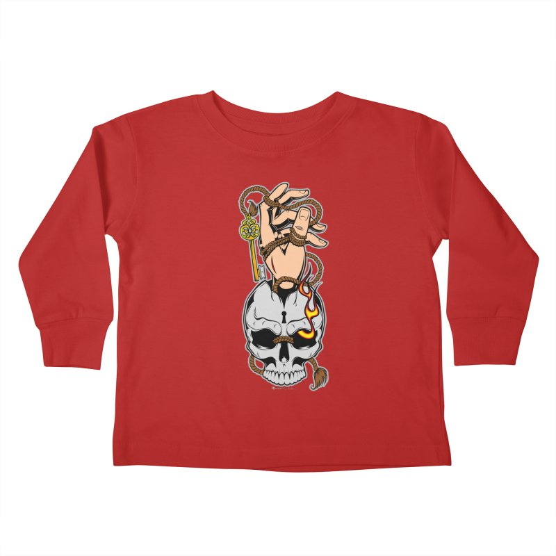 the Key Kids Toddler Longsleeve T-Shirt by EngineHouse13's Artist Shop