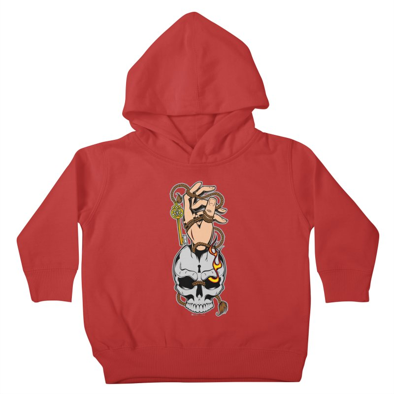 the Key Kids Toddler Pullover Hoody by EngineHouse13's Artist Shop