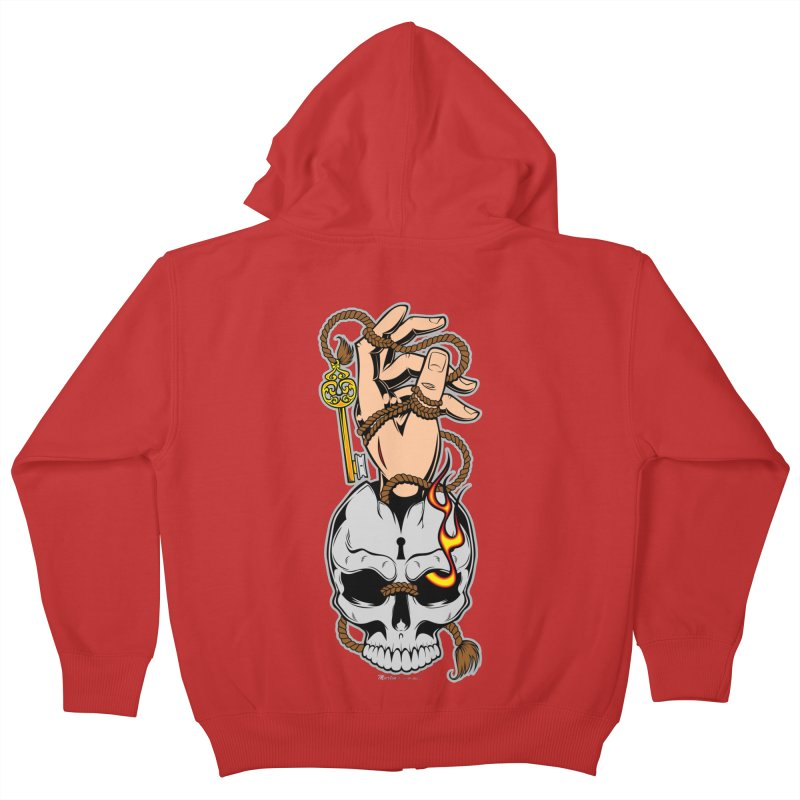 the Key Kids Zip-Up Hoody by EngineHouse13's Artist Shop