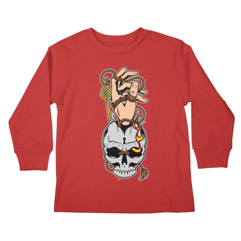 the Key Kids Longsleeve T-Shirt by EngineHouse13's Artist Shop