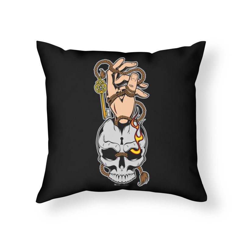 the Key Home Throw Pillow by EngineHouse13's Artist Shop