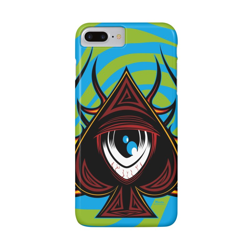 Spade Ball in iPhone 7 Plus Phone Case Slim by EngineHouse13's Artist Shop