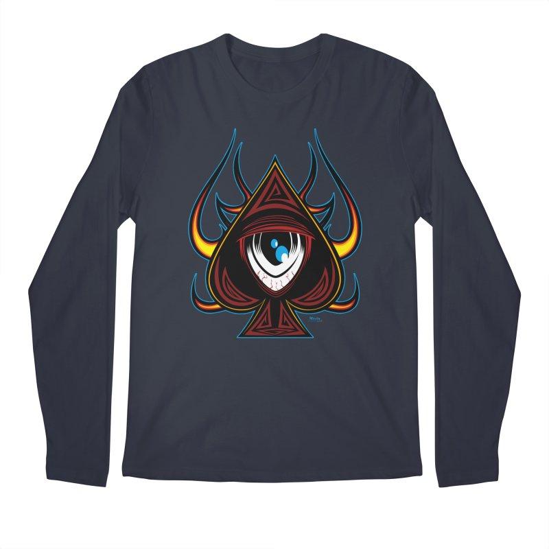 Spade Ball Men's Longsleeve T-Shirt by EngineHouse13's Artist Shop