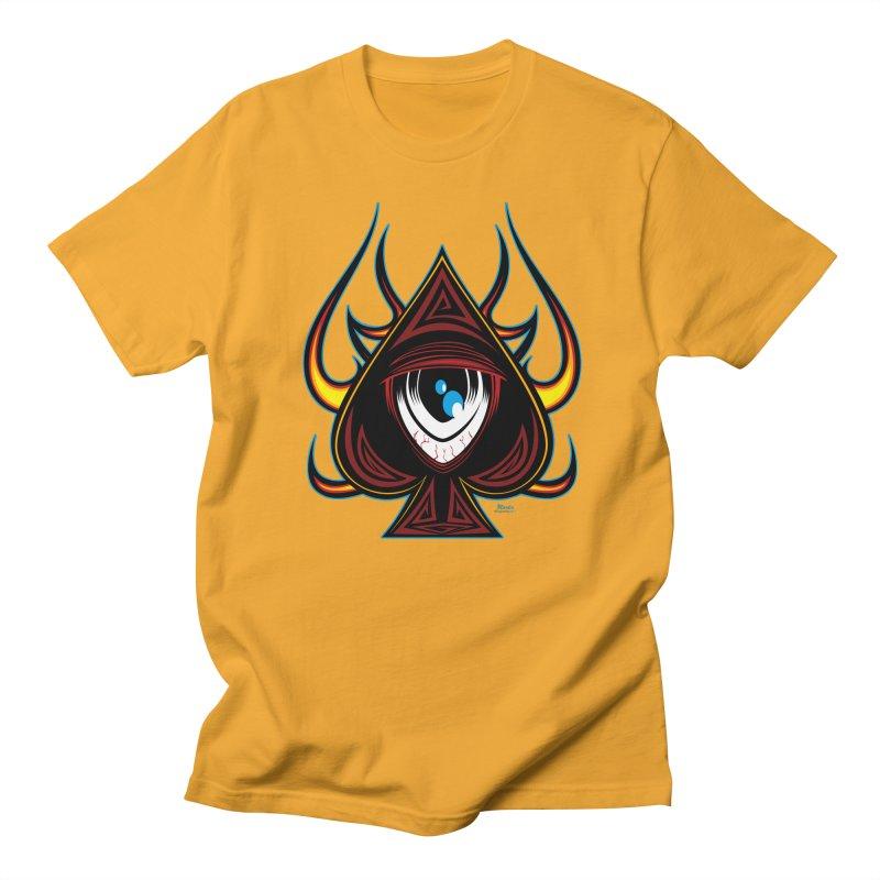Spade Ball Men's T-shirt by EngineHouse13's Artist Shop