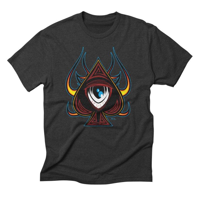 Spade Ball Men's Triblend T-shirt by EngineHouse13's Artist Shop