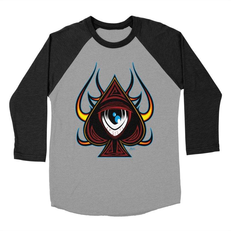 Spade Ball Women's Baseball Triblend T-Shirt by EngineHouse13's Artist Shop
