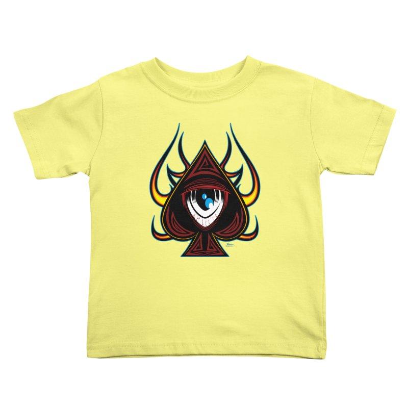 Spade Ball Kids Toddler T-Shirt by EngineHouse13's Artist Shop