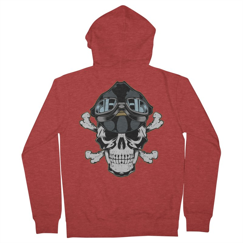 the Rebel Men's Zip-Up Hoody by EngineHouse13's Artist Shop