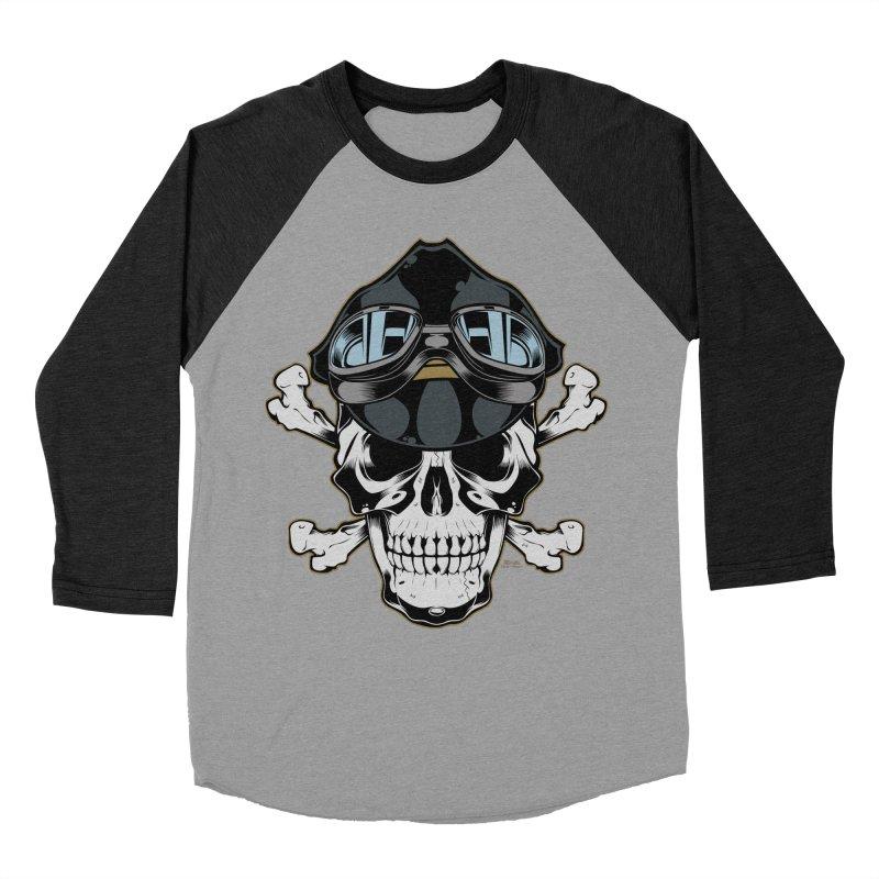 the Rebel Men's Baseball Triblend T-Shirt by EngineHouse13's Artist Shop