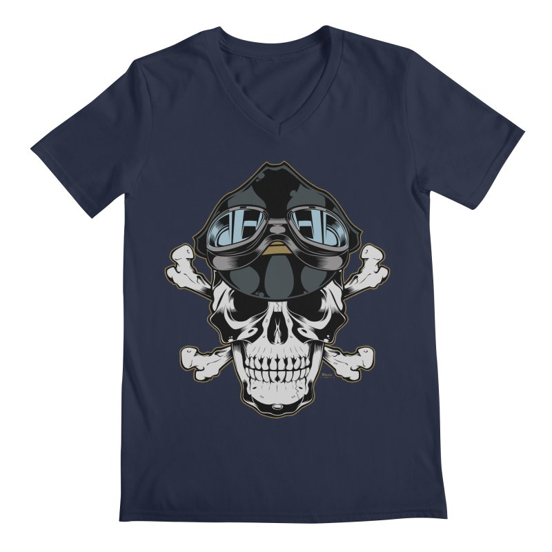 the Rebel Men's V-Neck by EngineHouse13's Artist Shop