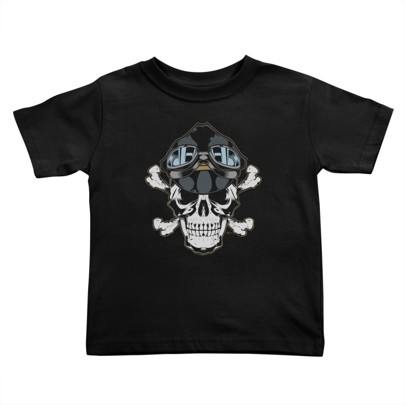 the Rebel Kids Toddler T-Shirt by EngineHouse13's Artist Shop