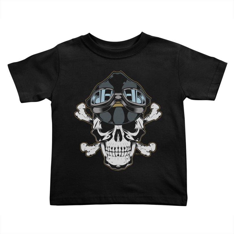 the Rebel Kids Toddler T-Shirt by EngineHouse13's Artist Shop