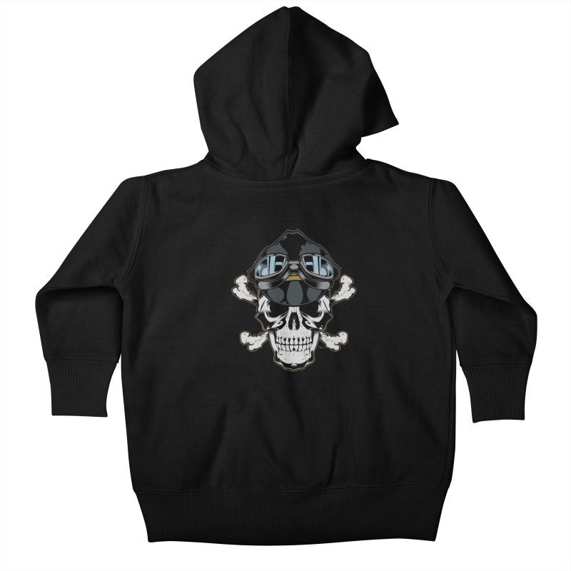 the Rebel Kids Baby Zip-Up Hoody by EngineHouse13's Artist Shop