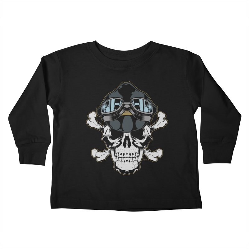 the Rebel Kids Toddler Longsleeve T-Shirt by EngineHouse13's Artist Shop