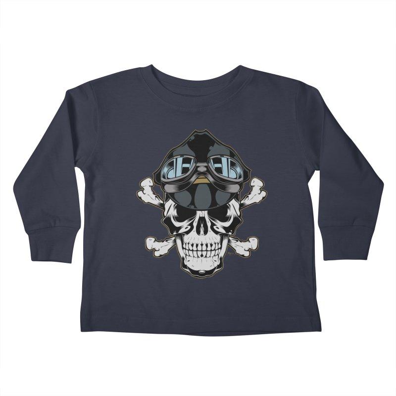 the Rebel Kids Toddler Longsleeve T-Shirt by EngineHouse13's Artist Shop